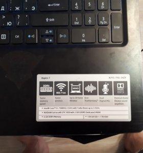 Acer aspire 7 a715-71g-54zy
