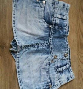 Шорты, сделанные под юбку