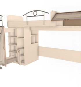Кровать чердак Аврора
