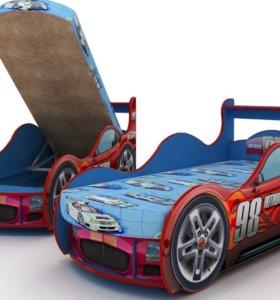 Кровать машина 170×90