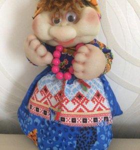Кукла Фрося ручной работы