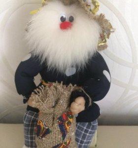 Кукла лесовик Тимоха ручной работы