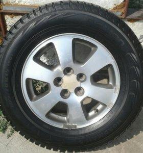 Комплект колёс 205.70. R15