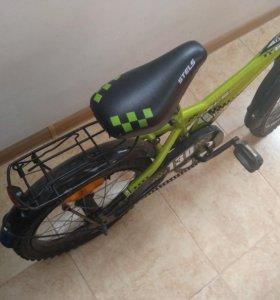 Велосипед зеленый детский STELS.