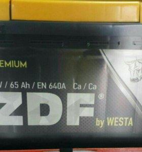 Авто аккумулятор 6СТ - 65 ZDF Premium