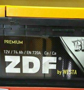 Авто аккумулятор - 74 ZDF Premium