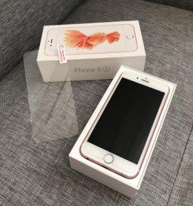 Айфон 6s Rose 16 гб , оригинал rst