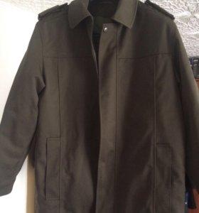 Куртка демисезонная защитного цвета