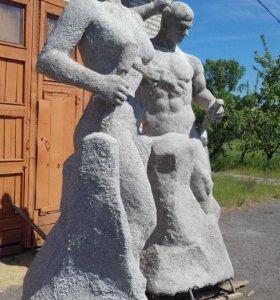 """Скульптура """"сделай себя сам"""""""