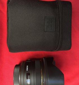 Объектив Sigma 50 mm 1.4 Nikon