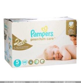 Подгузники Pampers Premium Care, 5(11-18 кг.),88шт