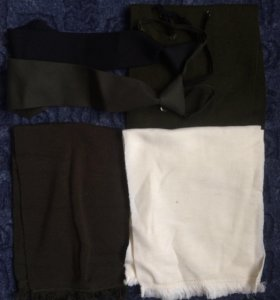 Кашне и галстуки военные новые