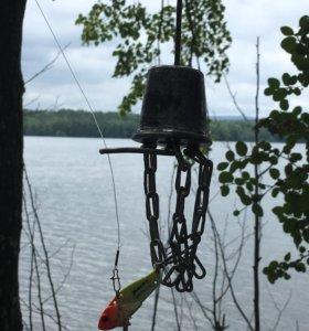 Летний отцеп для рыбалки