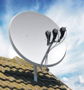 Спутниковое телевидение. Настройка и установка ТВ