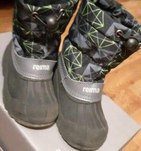 Сапоги reima, ботинки осень и зима, тапочки в сад