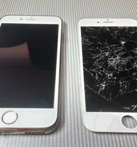 Замена разбитых экранов телефонов и планшетов