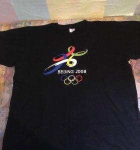 Футболка мужская, олимпиада в Пекине