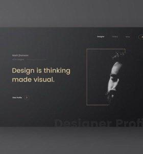 Создание сайтов на конструкторе