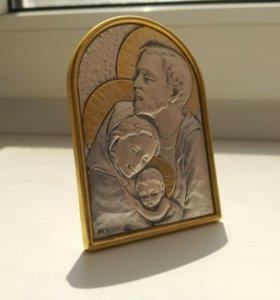 Серебренная икона из Ватикана
