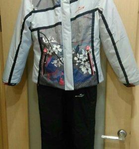 Зимняя куртка и комбинезон. Новая. Рост 140. 6-8 л
