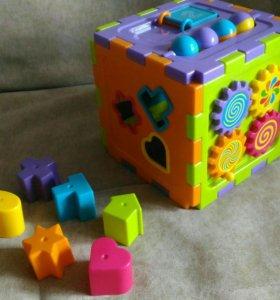 Куб простой BabyGo развивающий