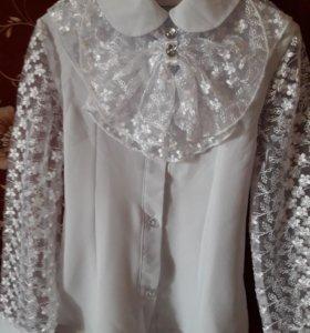 Сарафан для школы и 2 блузки