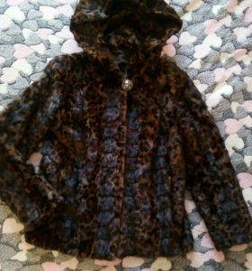 Куртка из кусочков норки