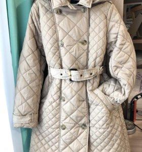 Утепленное пальто для девочки фирмы Acoola