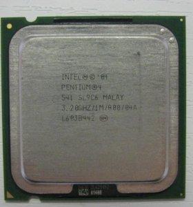 Процессоры Intel Pentium 4 541 3.2GHz
