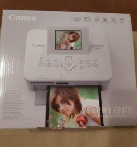 фотопринтер компактный Canon Selphy CP810