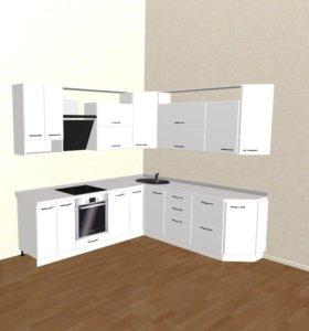 Кухня мдф 2,55х2,3м