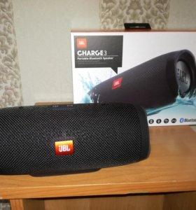 Портативная акустическая система JBL Charge 3 Blac