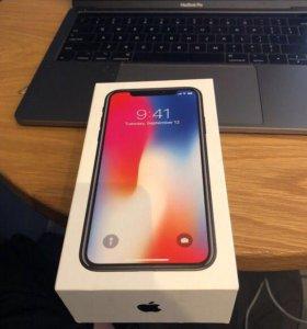 Iphone X 256 gb новый