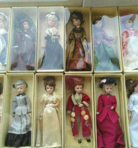 Фарфоровые куклы «Дамы эпохи»