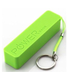Зарядное устройство Power bank 2600 - зелёный