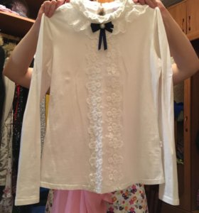 Школьная рубашка(Для девочек)
