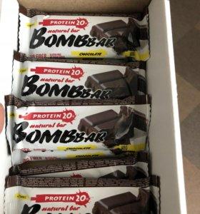Батончики Bombbar шоколад