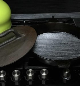 Сковорода чугунная тапака