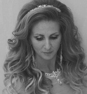 Свадебные прически в самый лучший день)))