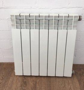 Биметаллический радиатор 7 секций