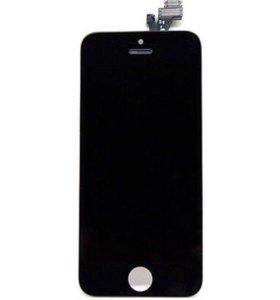 Дисплей Экран для iPhone 5 AAA черный модуль