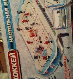 Настольная хоккейная игра