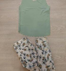 Летняя кофта, брюки размер 44