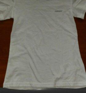 Новая белая футболка 128 размер