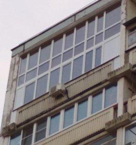 Двухъярусная лоджия балкон
