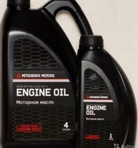Оригинальное моторное масло mitsubichi motors 5W30