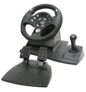 Руль с педалями компании Dialog