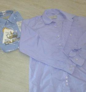 Новые рубашки 10-12лет