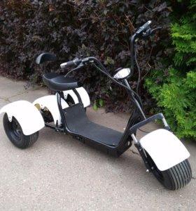 Электрический трицыкл мотоцикл, скутер.
