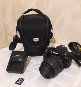 Nikon d3100+сумка+зарядка+карта памяти 16 гб